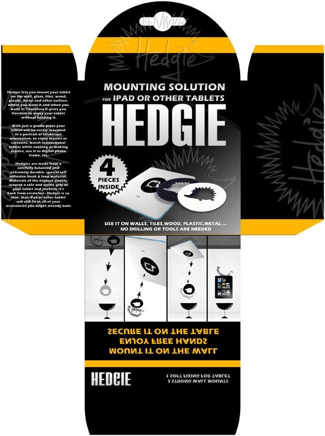 Kilpailutyö #                                        16                                      kilpailussa                                         Graphic Design for Hedgie packaging (Hedgie.net)