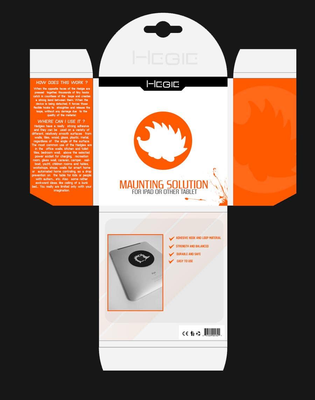 Конкурсная заявка №15 для Graphic Design for Hedgie packaging (Hedgie.net)