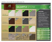 Brochure Design Contest Entry #43 for Design a Brochure for Quartz Stone products