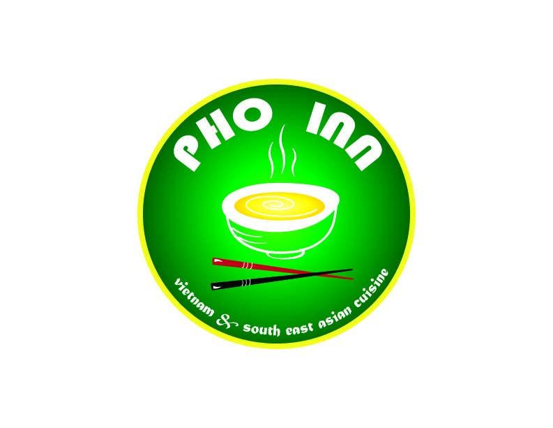 """Inscrição nº 74 do Concurso para Logo (for website, restaraunt front and uniforms) and Menu Design for """"PhoInn"""""""