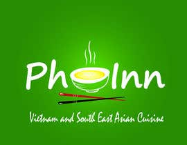 "#76 untuk Logo (for website, restaraunt front and uniforms) and Menu Design for ""PhoInn"" oleh SumairGhaziani28"
