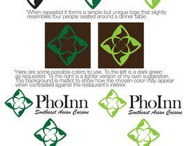 "#92 untuk Logo (for website, restaraunt front and uniforms) and Menu Design for ""PhoInn"" oleh dHodgson"