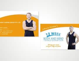 nikhil2488 tarafından Business Card Design for Johnny Harper's 12 Week Body & Mind Transformation için no 15