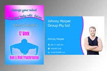 #28 for Business Card Design for Johnny Harper's 12 Week Body & Mind Transformation by lihia