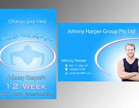 #31 para Business Card Design for Johnny Harper's 12 Week Body & Mind Transformation por lihia