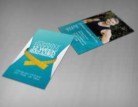 #3 untuk Business Card Design for Johnny Harper's 12 Week Body & Mind Transformation oleh iamwiggles