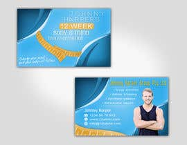 #39 for Business Card Design for Johnny Harper's 12 Week Body & Mind Transformation by Turismoo