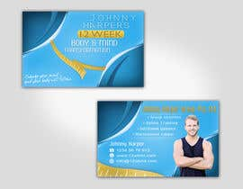 #35 para Business Card Design for Johnny Harper's 12 Week Body & Mind Transformation por Turismoo