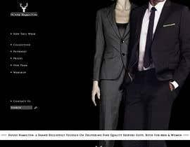 succinct tarafından Design a Website Mockup for a stylish bespoke fashion brand için no 66