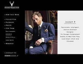 succinct tarafından Design a Website Mockup for a stylish bespoke fashion brand için no 78