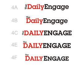 #149 para Design a Logo for The Daily Engage por kotysoft