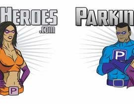 #13 para ParkingHeroes.com  Guaranteed $ Illustrators needed 2 characters !!  Sealed Contest... See Samples por heximages