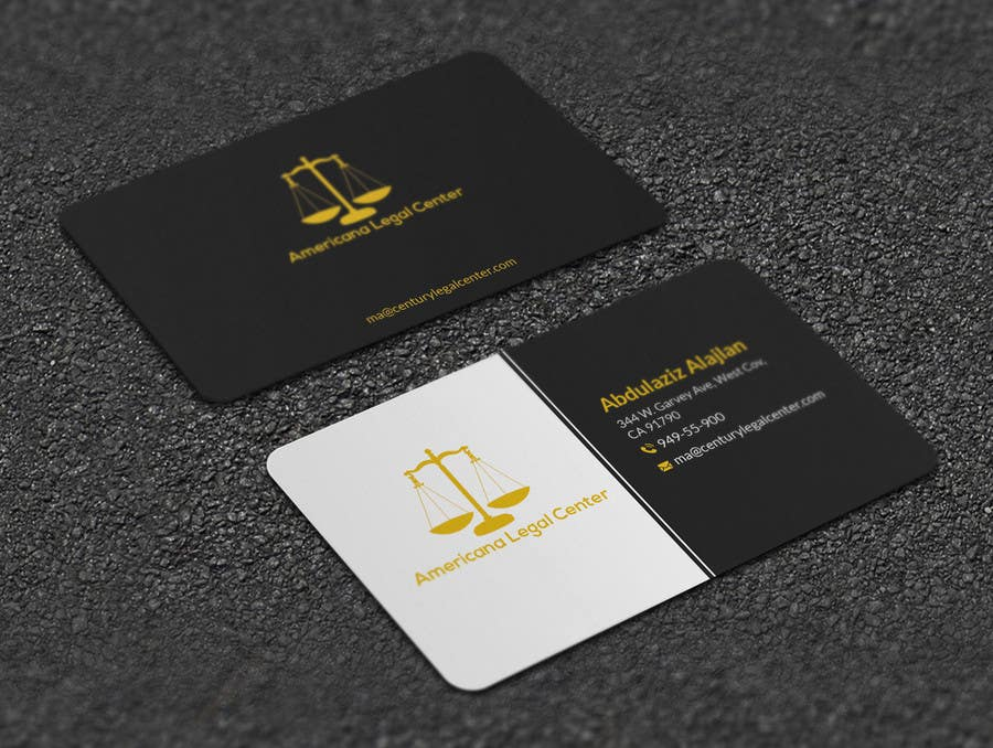Entry 38 By Artspixel For Easy Design Some Legal Business Cards