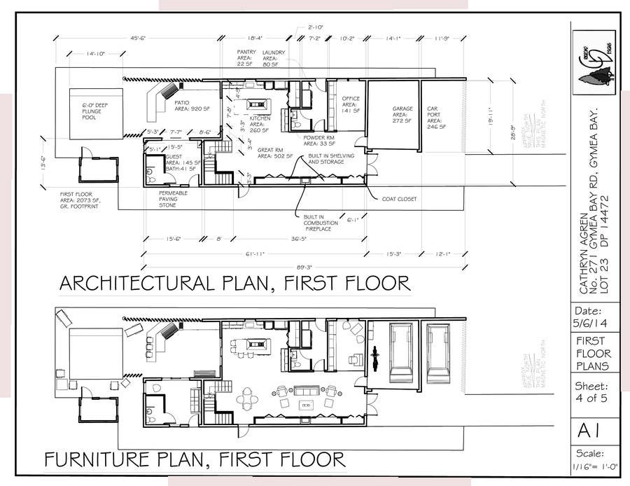 #31 for Provide a floor plan for a duplex by crikroad