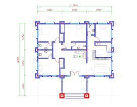 #35 for Provide a floor plan for a duplex by klichhay
