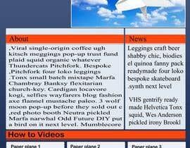 #18 for Design a Wordpress-Template for a paperplane website af oliullah79