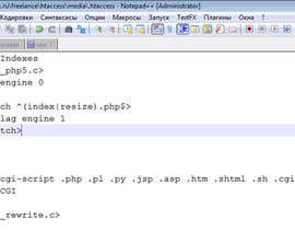 nº 1 pour Write some Apachi .htaccess Code in a Magento Folder to give access to php script par akuprianov
