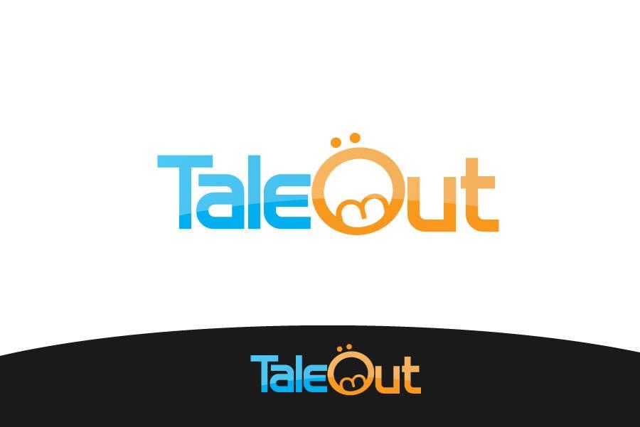 "Kilpailutyö #87 kilpailussa Logo Design for ""TaleOut"""