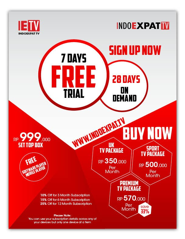 #3 for Design a Flyer for IPTV Company by sabdulghani