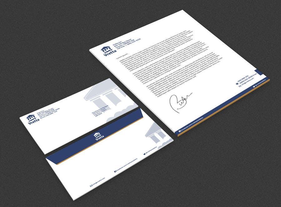 Penyertaan Peraduan #                                        20                                      untuk                                         Design a template for our letters and envelopes