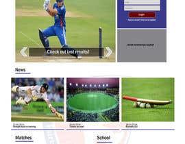 Design a Website Mockup for Shinol Fairtree Cricket Club | Freelancer