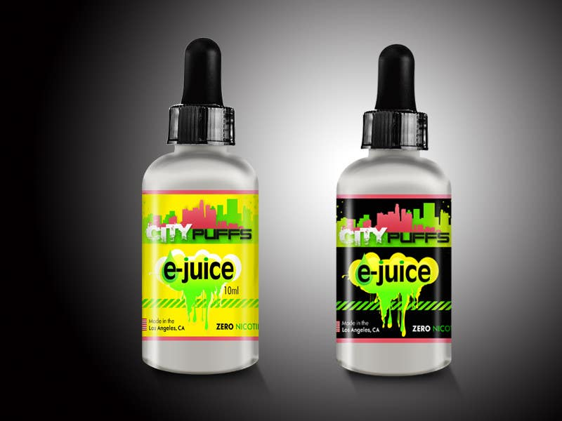 Create Packaging Label Design for e-Juice Bottles | Freelancer
