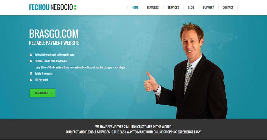 #5 for Design a landing page for my site by user7225