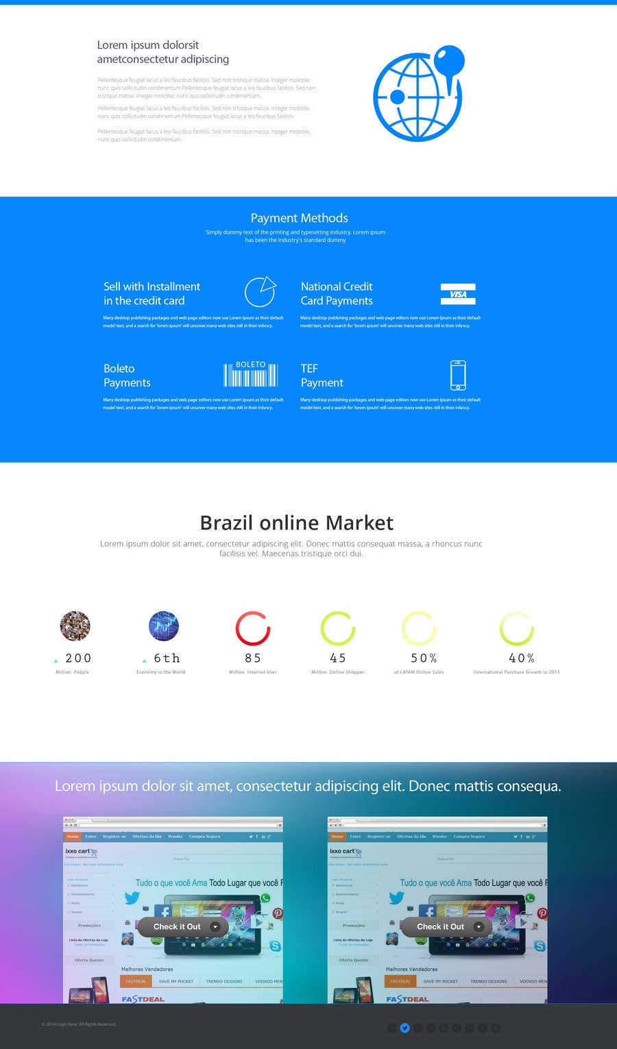 #11 for Design a landing page for my site by MiNdfr34k