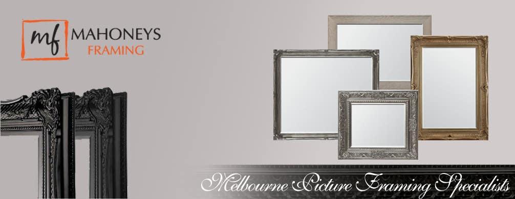 Inscrição nº                                         10                                      do Concurso para                                         Design a Banner for Custom Framing business