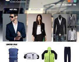 #49 for Design an e-commerce website mockup (Design Only, No programming Required) by XiaoRIV