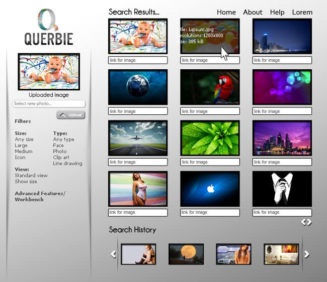 Website Design for querbie.com
