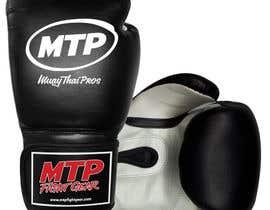 #36 for Design a Basic Black and White Boxing Glove (I already have logo options) by OvidiuSV