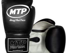 #37 for Design a Basic Black and White Boxing Glove (I already have logo options) by OvidiuSV
