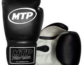 #38 for Design a Basic Black and White Boxing Glove (I already have logo options) by OvidiuSV