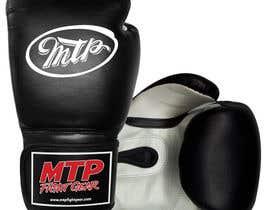 #43 for Design a Basic Black and White Boxing Glove (I already have logo options) by OvidiuSV