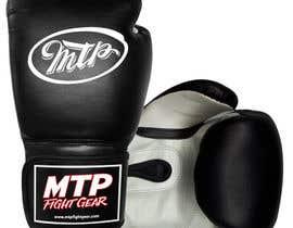 #44 for Design a Basic Black and White Boxing Glove (I already have logo options) by OvidiuSV