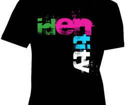 nº 210 pour T-shirt Design for IDENTITY par Romona1