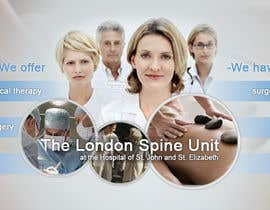 #97 pentru Banner Ad Design for London Spine Unit de către mandrake2132