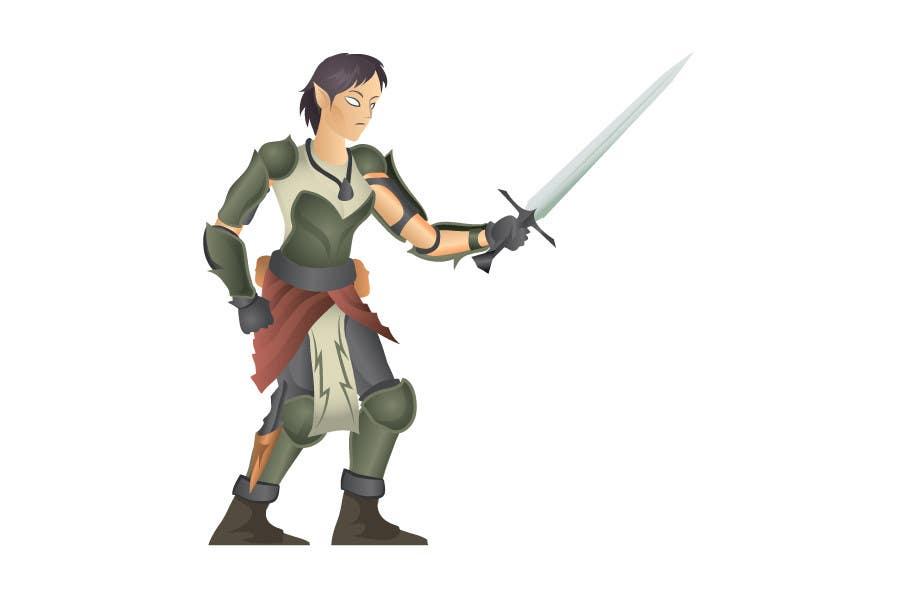 Inscrição nº                                         17                                      do Concurso para                                         Medieval Fantasy game character design