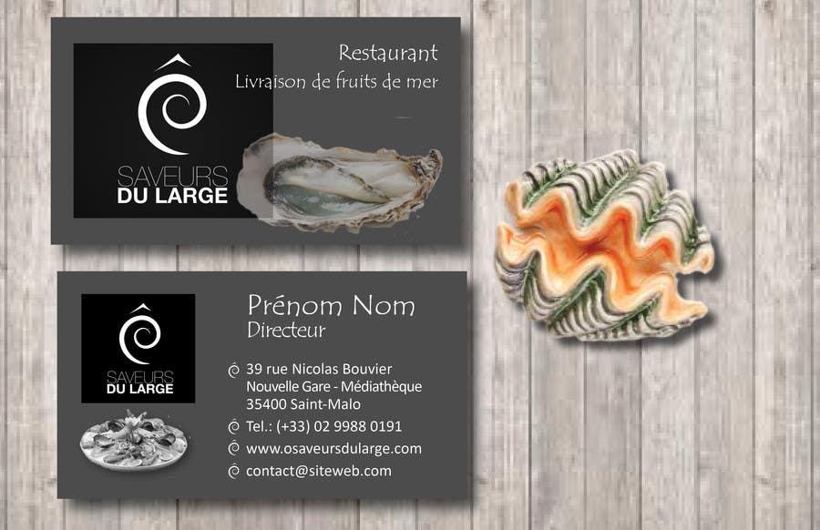 Contest Entry 5 For Design A Business Card Restaurant