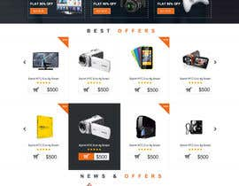 #12 for Develop a mockup for main page of e-commerce site by ProliSoft