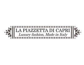 #30 untuk LA PIAZZETTA DI CAPRI Luxury Fashion, Made in Italy watermark oleh mirceawork