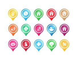 #25 for Redesign 15 Map Markers for a Locator Page by VitalinaLitvin