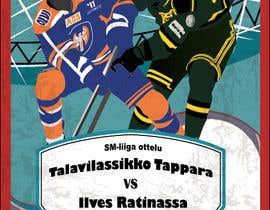nº 12 pour Graphic Design for Hockey event par marijoing