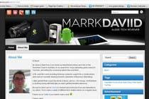 Graphic Design Konkurrenceindlæg #29 for Banner Design for MarrkDaviid.com