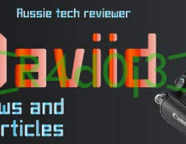 #34 for Banner Design for MarrkDaviid.com by R4d0j3