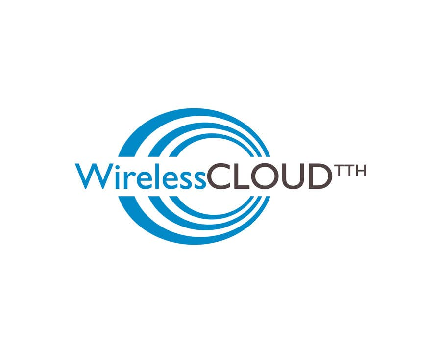 Penyertaan Peraduan #                                        458                                      untuk                                         Logo Design for Wireless Cloud TTH