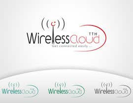 #725 for Logo Design for Wireless Cloud TTH af mtuan0111