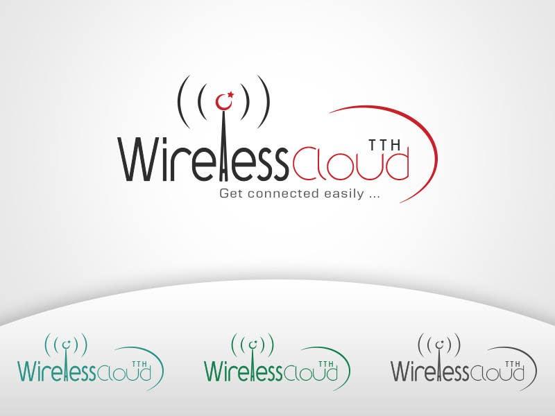 Penyertaan Peraduan #                                        746                                      untuk                                         Logo Design for Wireless Cloud TTH