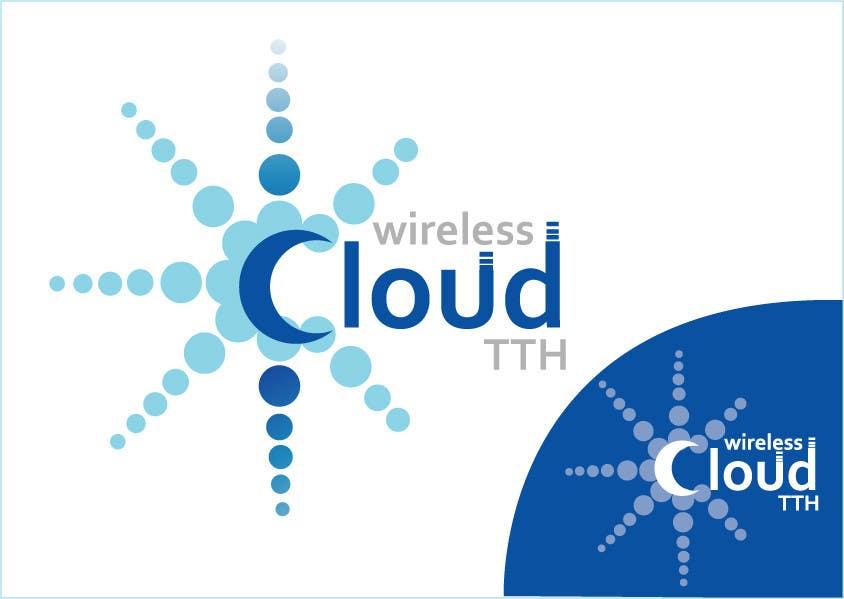 Penyertaan Peraduan #                                        495                                      untuk                                         Logo Design for Wireless Cloud TTH